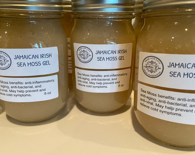 Wild Crafted Jamaican Irish Sea Moss Gel