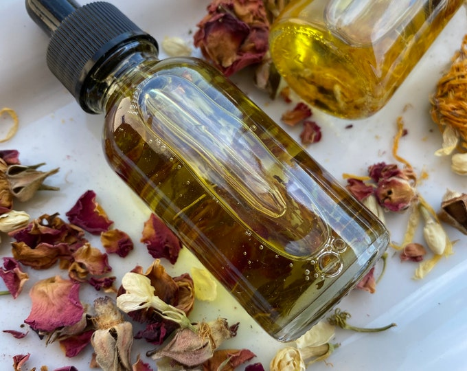Organic Red Rose & Caléndula Facial Serum