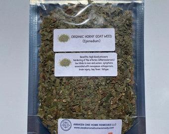 Organic Horny Goat Weed (Epimedium)