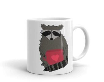 Racoon Tea Party Mug