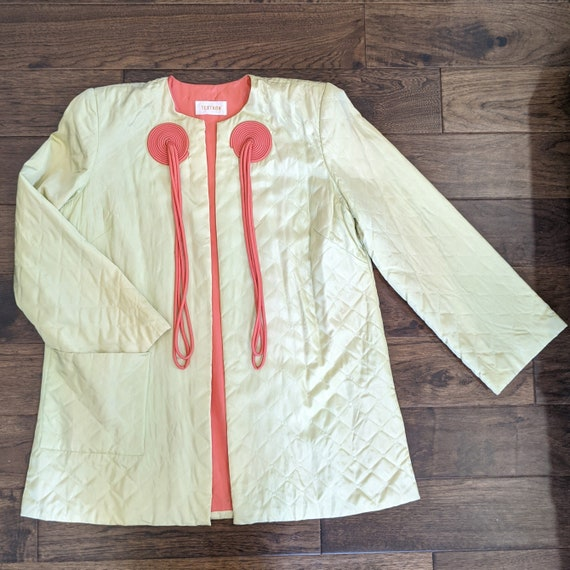 1940s Textron Hostess Coat Housecoat Robe