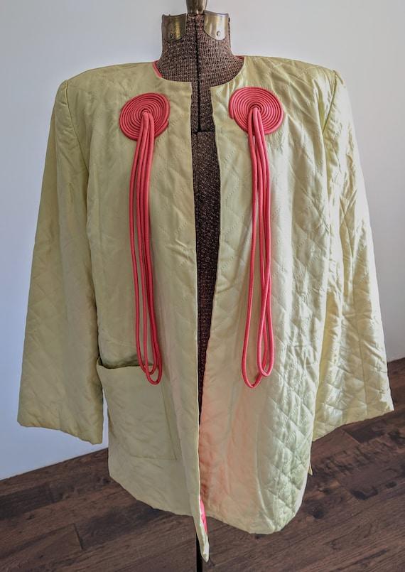 1940s Textron Hostess Coat Housecoat Robe - image 2
