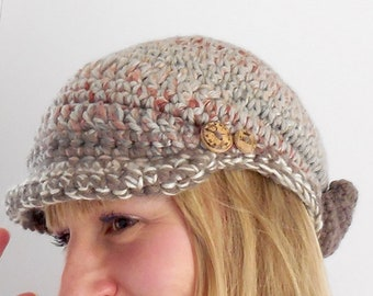 Woman NEWSBOY Cap