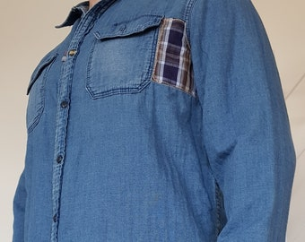 Upcycled Mens Shirt