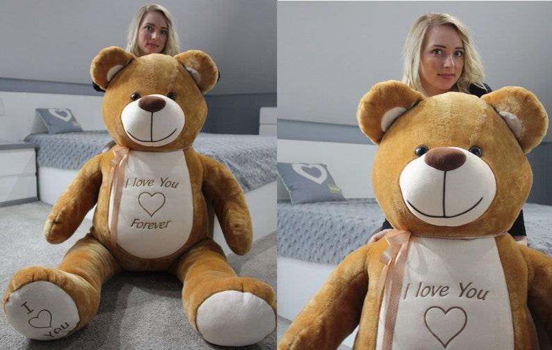 5fca20d02dc2 Large Giant Big Teddy Bear Soft Plush Toys 170 cm | Etsy