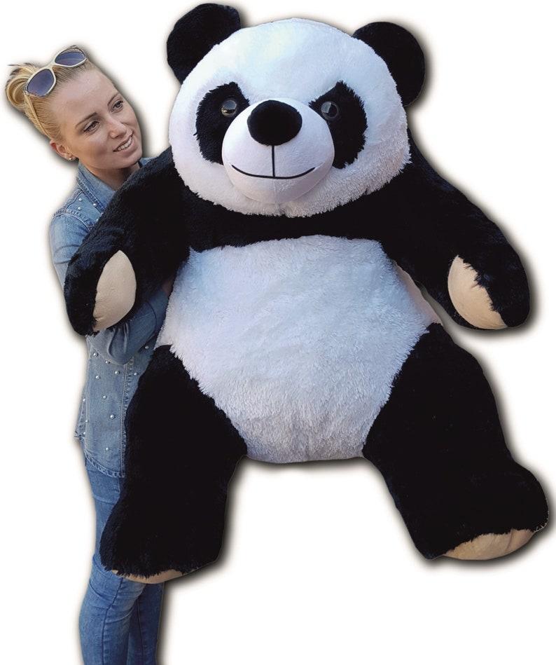 1b019a8d2f90 Panda Large Giant Big Teddy Bear Soft Plush Toys 145 cm | Etsy