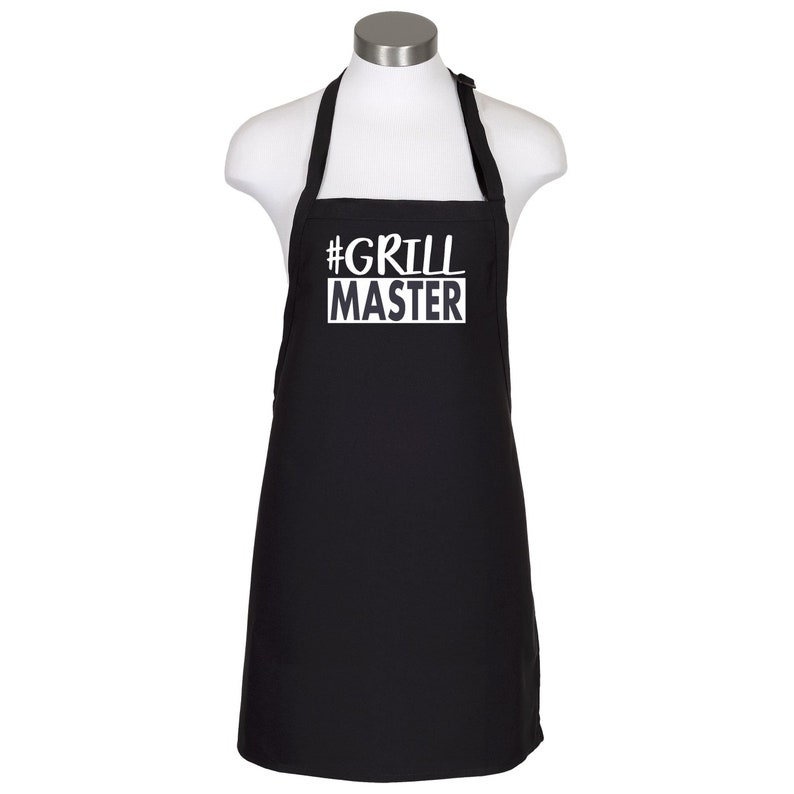 Fathers Day Gift Anniversary Gift PERSONALIZED Grill Master BBQ Apron Gift for Him Dad Gift Grill Gift Christmas Gift