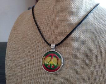 Rastafarian Peace Symbol