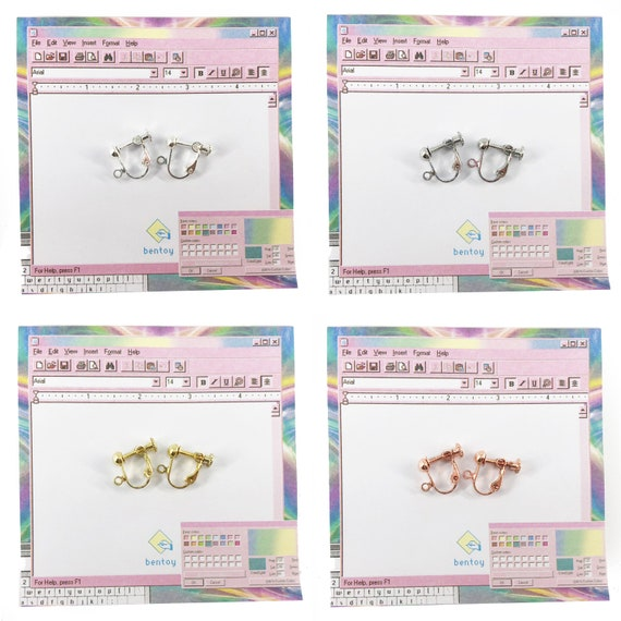 CUTIFICIAL Oval Crystal Earrings For Women and Girls Clip-on Exchange Available