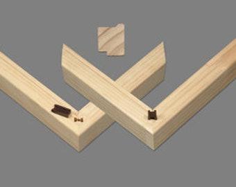 "1 1/2"" X 1 1/8"" Gallery Stretcher Bars  (Box of 20)"