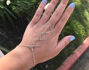 Sterling Silver Slave Bracelet