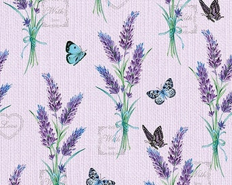 20 Paper Party Napkins Heather Baskets Pack of 20 3 Ply Tissue Serviettes Floral
