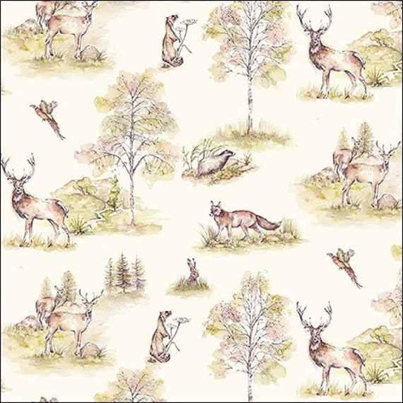 20 Paper Party Napkins Proud Deer Pack of 20 3 Ply Tissue Serviettes Animals