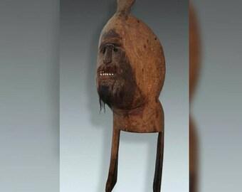 "Antique Ritual Mask ""ATONI"" from Timor"