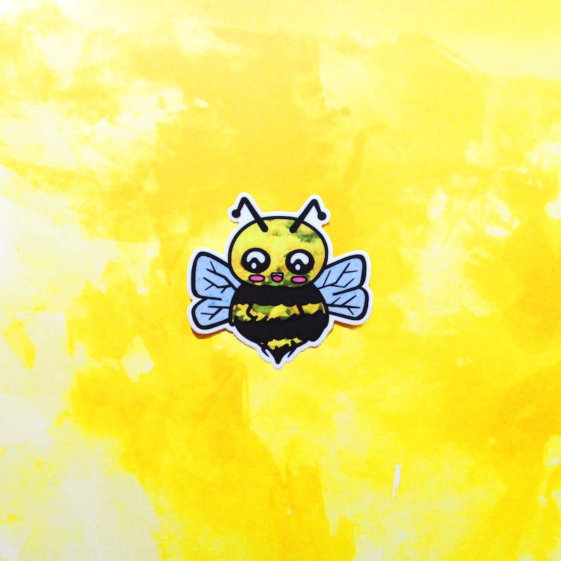 Lil' Bee Sticker  Cute Bee Gift Set  High Quality Vinyl Sticker