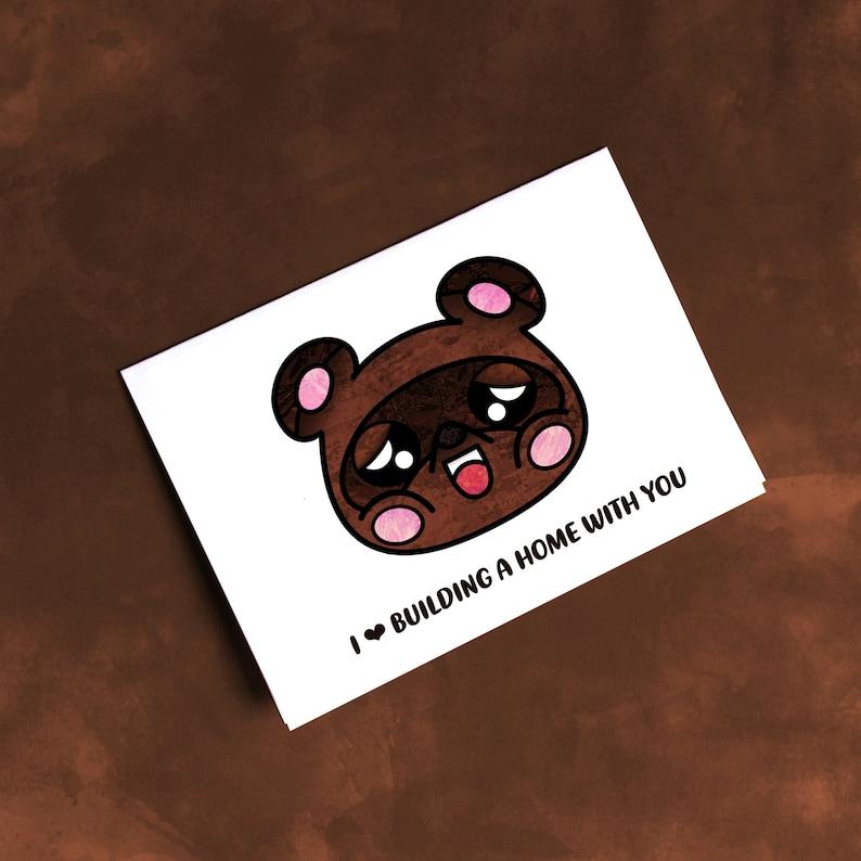 Kawaii Nook  Animal Crossing New Horizons Gift  Nook image 0