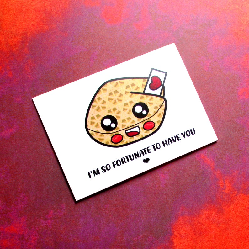 Affirming Fortune Cookie  Kawaii Keepsake for Friend or image 0