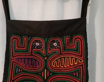 mola hand bag purse casual cotton hand made bolso