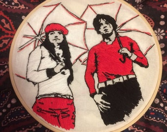 The White Stripes, Jack White Embroidered Hoop Art