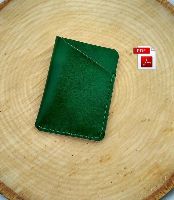 Small leather holder pattern PDF