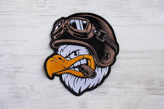 HAVE YOU HUGGED YOUR MONKEY IRON ON BIKER PATCH