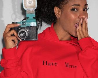 Chloe Bailey Hoodie Chloe Bailey Have Mercy Inspired Cotton Hoodie