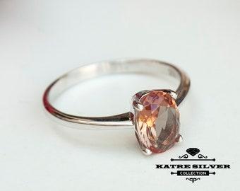 Sultanite Color Change Ring, Turkish Ring, Women Silver Ring, Solitaire Ring, Women Ring, Silver Stone Ring, 925 Silver Ring, Statement Ring