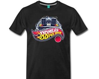 88 miles per hour shirt, 88mph, delorean, back to the future, great scott, doc brown,  back to the 80's, delorean time machine,