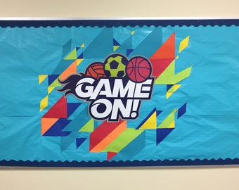 Bulletin Board Template - Game On VBS