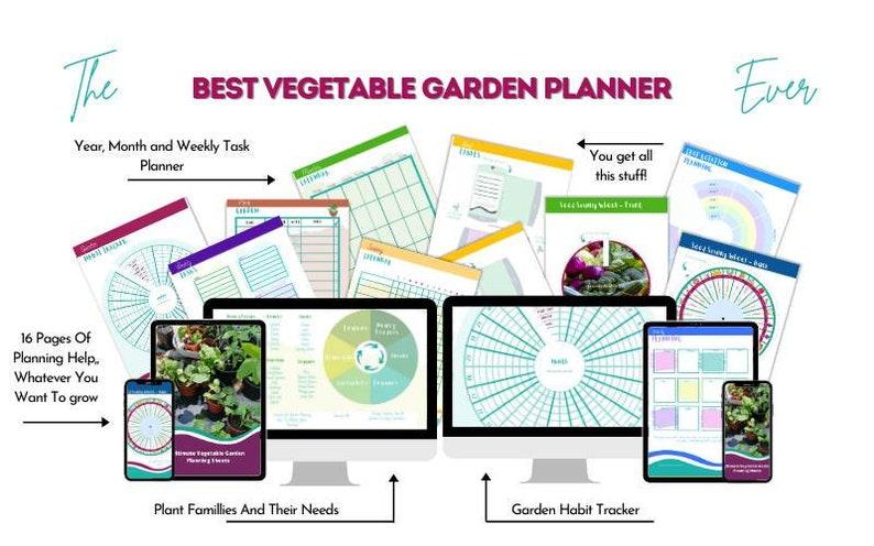 Vegetable Garden Planning Pack image 0