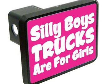 BRIDGETT: Girls trailer hitch in her