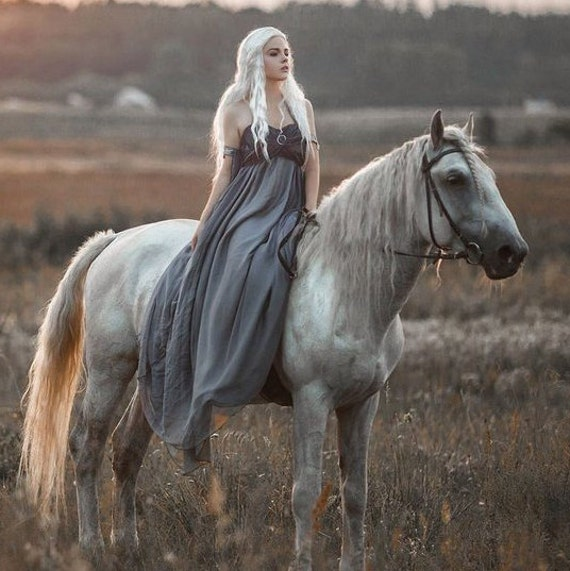 Fantasy First Season Game Custom Cosplay Targaryen Made Cosplay of Thrones Handmade Dress Wedding Dress Daenerys Costume 8yvFq
