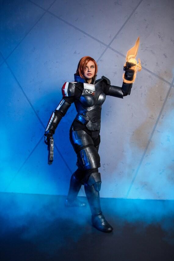 Mass Effect 3 Fem Shepard Inspired Cosplay Costume Custom Made Handmade