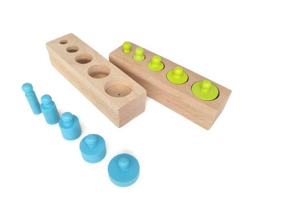Learning Resources Kids Early Education Beechwood Montessori Material Toy Set