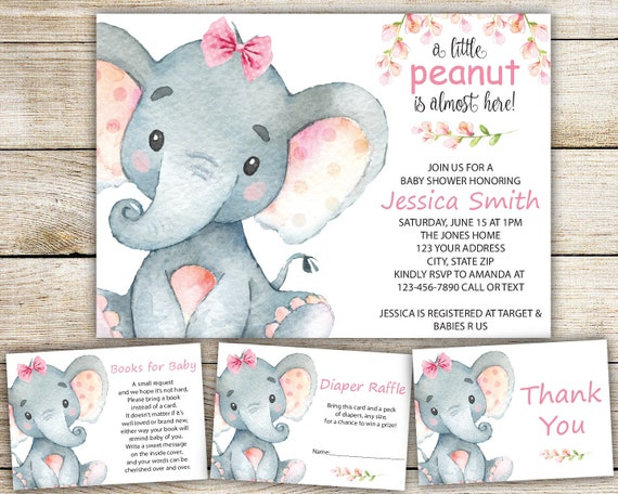 Remarkable image within etsy baby shower invitations printable