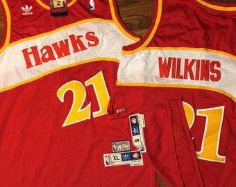 a8242027d Dominique Wilkins Atlanta Hawks Jerseys Sz XL   S