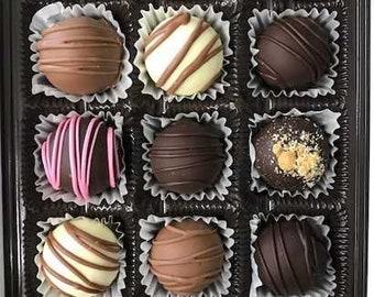 Box of 15 Assorted Chocolate Truffles
