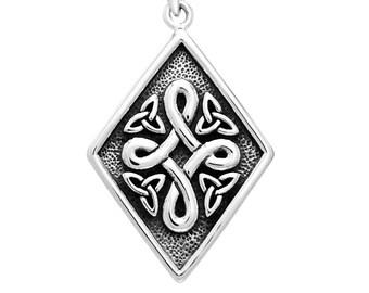 Celtic Knot Necklace, Irish Jewelry, Norse Jewelry, Mom Gift, Wedding Jewelry, Scotland Jewelry, Anniversary Gift, Girlfriend Gift, Wiccan