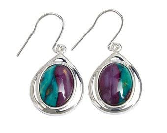 Celtic Teardrop Earrings, Scotland Jewelry, Outlander Jewelry, Celtic Jewelry, Wiccan Jewelry, Norse Jewelry, Girlfriend, Sister