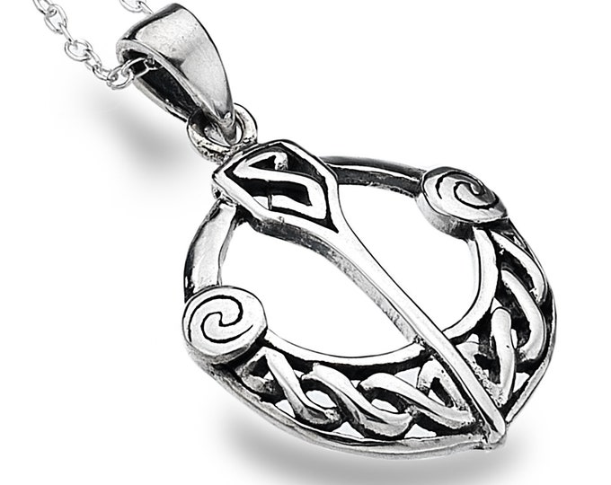 Celtic Necklace, Ireland Jewelry, Tara Necklace, Irish Dance Gift, Anniversary Gift, Celtic Jewelry, Wiccan Jewelry, Pagan Jewelry