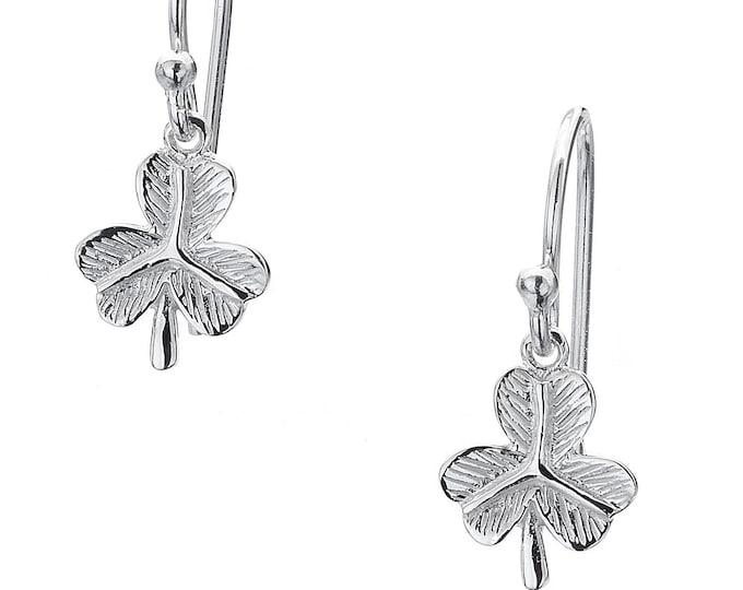 Shamrock Earrings, Celtic Jewelry, Irish Dance, Celtic Earrings, Clover, Gift for Her, Clover Earrings, Nature Jewelry, Irish Dance Gift