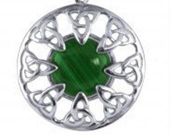 Trinity Knot Necklace,Celtic Necklace, Scotland Jewelry, Irish Jewelry, Triquetra, Bridal Jewelry, Wedding Jewelry, Love Token, Anniversary