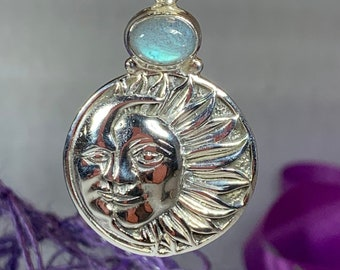 Sun Necklace, Celtic Necklace, Celestial Jewelry, Mystical Jewelry, Anniversary Gift, Celtic Jewelry, Friendship Gift, Mom Gift, Sister Gift