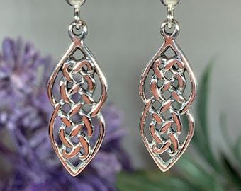 Celtic Knot Earrings, Irish Jewelry, Wiccan Jewelry, Mom Gift, Anniversary Gift, Sister Gift, Girlfriend Gift, Wife Gift, Scotland Jewelry
