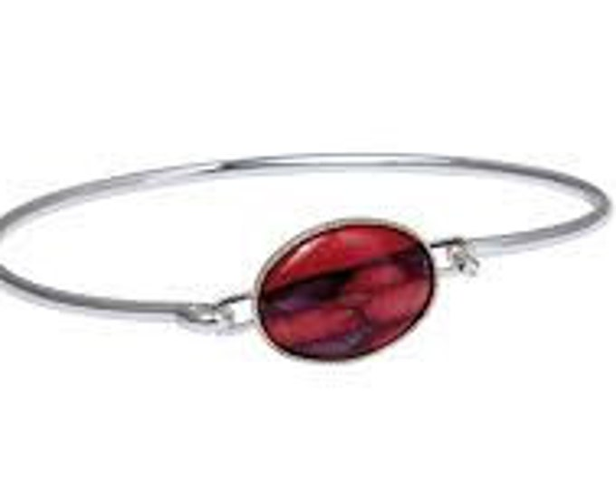 Scotland Heather Bracelet, Celtic Jewelry, Heather Gem, Scotland Jewelry, Gift for Her, Nature Jewelry, Anniversary Gift, Graduation Gift