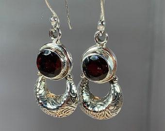 Celtic Earrings, Celtic Jewelry, Irish Jewelry, Celtic Knot Jewelry, Bridal Jewelry, Amethyst Jewelry, Scotland Jewelry, Mom Gift
