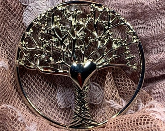 Tree of Life Brooch, Celtic Jewelry, Irish Jewelry, Celtic Brooch, Celtic Pin, Mom Gift, Anniversary Gift, Wiccan Pin, Friendship Gift
