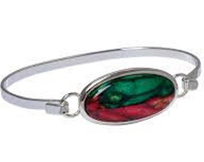 Scottish Celtic Bracelet, Heather Gem, Scotland Jewelry, Unique Bracelet, Graduation Gift, Gift for Her, Retirement Gift, Anniversary Gift