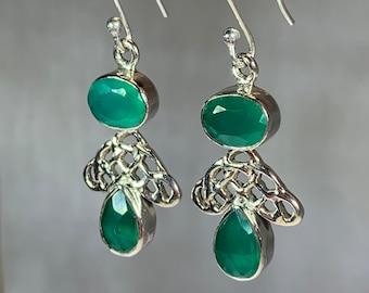 Celtic Knot Earrings, Celtic Jewelry, Irish Jewelry, Celtic Knot Jewelry, Bridal Jewelry, Wiccan Jewelry, Scotland Jewelry, Mom Gift