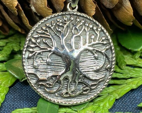 Tree of Life Necklace, Celtic Jewelry, Irish Jewelry, Tree Jewelry, Yoga Jewelry, Anniversary Gift, Ireland Gift, Scotland Jewelry, Mom Gift